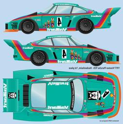 77 Vaillant Kremer Porsche 935 water transfer decals for Tam
