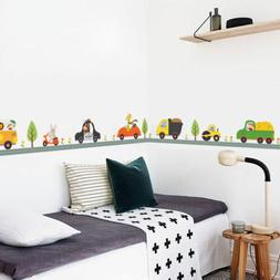 Animal Car Wall Stickers Decals Wallpaper Mural for Kids Nur