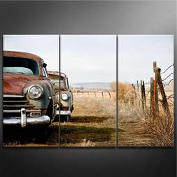 Canvas Print Wall Art Painting for Home Decor vintage Cars A