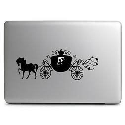 Cinderella Carriage Disney for Macbook Laptop Car Window Wal