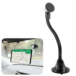 Dashboard Windshield Car Mount Magnetic Quick-Snap Phone Hol