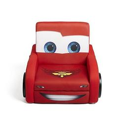 Delta Children Deluxe Upholstered Chair, Disney/Pixar Cars