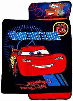Disney Cars Toddler Rolled Nap Mat, Rule The Road