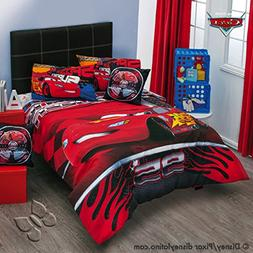Disney Pixar Cars Speed 7 piece Reversible Comforter Set Ful