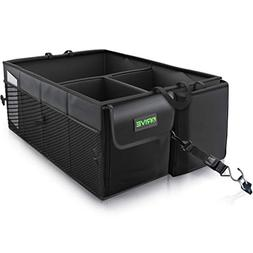 Drive Auto Products Car Trunk Organizer Storage with Straps,