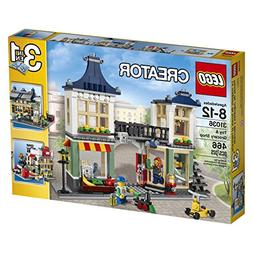 LEGO Creator 31036 Toy and Grocery Shop, 3-in-1 Building Toy
