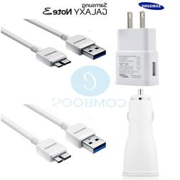 Original Samsung USB Wall Car Charger Data Sync Cable OEM fo