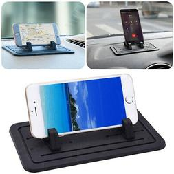 Sticky Silicone Pad Car Dashboard Mount Holder Cradle for Ce