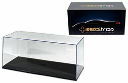 ACRYLICASE 14003 CLEAR DISPLAY SHOW CASE FOR 1/18 DIECAST MO