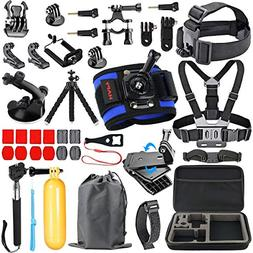 HAPY Sports Action Professional Video Camera Accessory Kit f