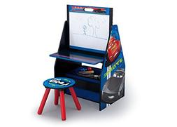 Delta Children Activity Center with Easel Desk, Stool and To