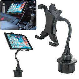 """360° Car Cup Holder Mount Holder For 7-10"""" iPad Mini/2/4/5/"""