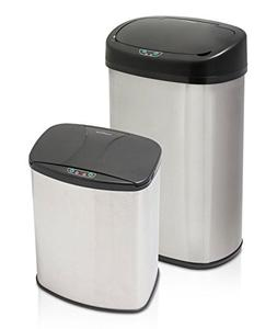 Modernhome AFT-605/1 Automatic Brushed Stainless Steel Trash