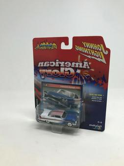Johnny Lightning American Glory 1958 Plymouth Belvedere Whit