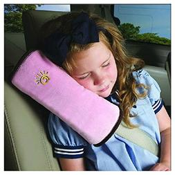 Inkach Auto Pillow Car Safety Belt Protect Shoulder for Kids