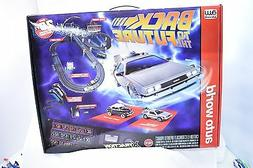 AW AUTO WORLD SRS297 20' BACK TO THE FUTURE 2 SLOT CAR RACE