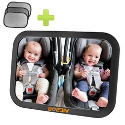 Baby Car Back Seat Mirror, View Rear Facing Infant in Backse