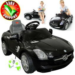 Battery Powered Car Kids Ride On Toy Mercedes Remote Control