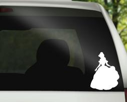 Belle Disney Decal Sticker for Car, Wall or Laptop