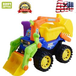 Boy for Toys Kids Beach Sand Play Toys Excavator Vehicles Tr