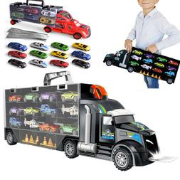 Car Carrier Transport Trucks Play Vehicles Educational Toy G