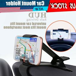 Car Dashboard Mount Holder Stand Cradle Clip Universal Clamp