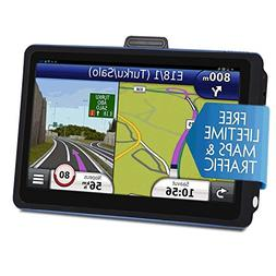 Car GPS Navigation, 7 inch Touch Screen + 8GB Voice Prompt G