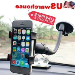 Car Holder 360°Rotating Windshield Mount Bracket Stand for