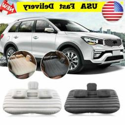 Car Inflatable Bed Back Seat Mattress Airbed for Rest Sleep