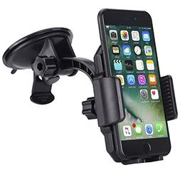 Car Mount,JAMRON Washable Strong Sticky Gel Pad for Windshie