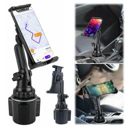 Car Mount Adjustable Cup Holder Stand Cradle For Cell Phone