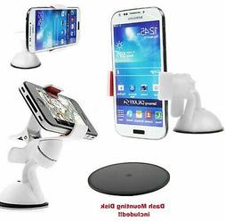 Car Mount Holder for iPhone 5 6 Plus Samsung Galaxy S4 S5 No