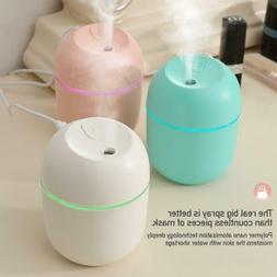 For Car Office Room LED Mini Humidifier Cute Essential Oil D