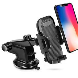 Car Phone Mount, BAIVON Universal Dashboard Cell Phone Holde
