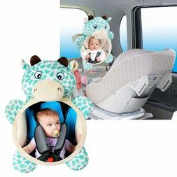 Car Seat Back Mirror for Baby Kids Shatterproof Car Mirror C