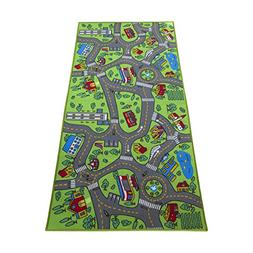 Kids Carpet Playmat City Life Extra Large - Learn & Have Fun