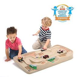 Simplay3 Carry and Go Track Table for Toy Cars, Trucks, and