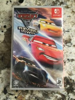 Cars 3: Driven to Win Nintendo Switch Brand New Factory Seal
