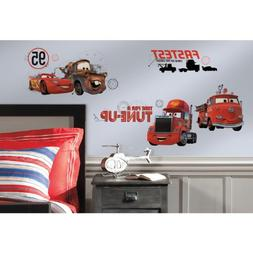 cars friends finish wall decal