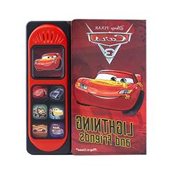Cars 3 Little Sound Book Lightning McQueen 9781503715219