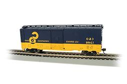 Bachmann Hobby Train Freight Cars, Prototypical Blue & Yello