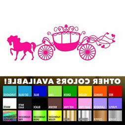 Cinderella Carriage Disney for Macbook Laptop Car Window Hom