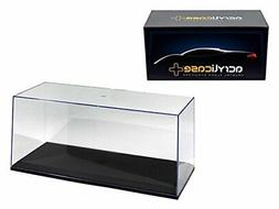 ACRYLICASE CLEAR DISPLAY SHOW CASE FOR 1/18 Diecast Car BLAC