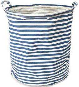 collapsible cylindric laundry storage bucket