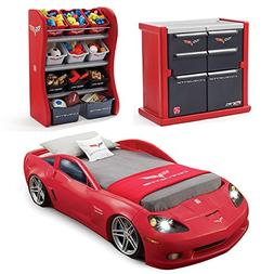 Step2 Corvette Bedroom Combo for Kids - Durable Toddler to T
