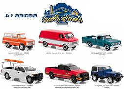 Country Roads / Release 14, 6pc Diecast Car Set 1/64 by Gree