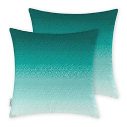 CaliTime Pack of 2 Cozy Fleece Throw Pillow Cases Covers for