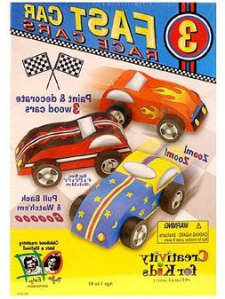 Creativity for Kids Kit - Fast Care Race Cars