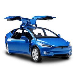 Diecast 1:32 Scale Alloy Cars for Tesla Model SUV Car Sound