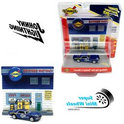 Johnny Lightning Diorama 3D Sunoco Filling Up For Today's 19